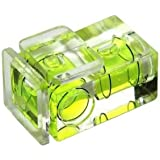 Kaavie Camera Flash Hot Shoe Bubble Spirit Level 2 Axis for Nikon, Canon Pentax Olympus Samsung digital SLR