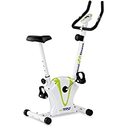 JK Fitness MF600 Cyclette Magnetica, Bianco