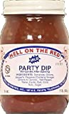 Hell on the Red Mild Party Dip Salsa, 16 oz (Pack of 2)