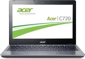 Acer C720-29552G01AII 29,5 cm (11,6 Zoll) Chromebook (Intel Celeron 2955U, 1,4GHz, 2GB RAM, 16GB SSD, Intel HD, Chrome) grau