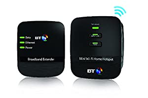 BT Mini Wi-Fi 500 Home Hotspot Power Adapter Kit - (Pack of 2)