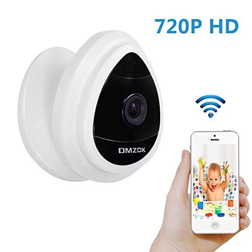 dmzok mini security ip camera 1280x720p home surveillance camera wireless ip camera with built. Black Bedroom Furniture Sets. Home Design Ideas