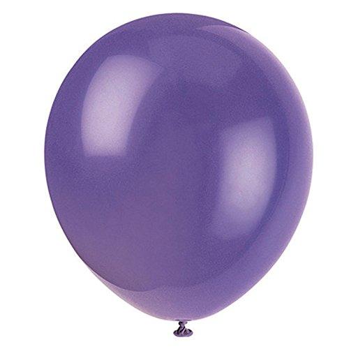 Latex-Balloons-12-Amethyst-Purple-10-Count