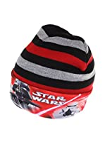 Star Wars Gorro Lightsaber Stripe (Negro / Rojo)