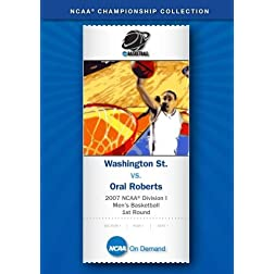 2007 NCAA(r) Division I Men's Basketball 1st Round - Washington St. vs. Oral Roberts