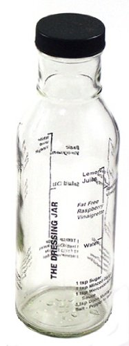 Catamount Glassware CG4618 Dressing Jar