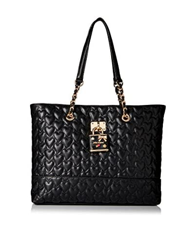 Betsey Johnson Women's Be My Baby Tote, Black
