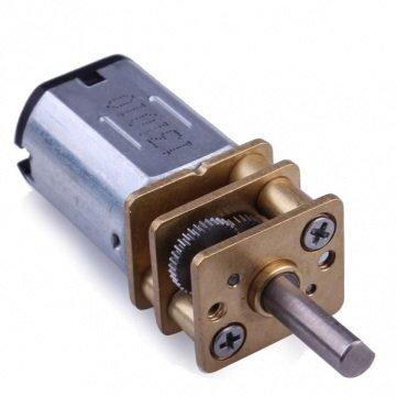N20 Dc Gear Motor Miniature High Torque Electric Gear Box Motor/ 160 Rpm