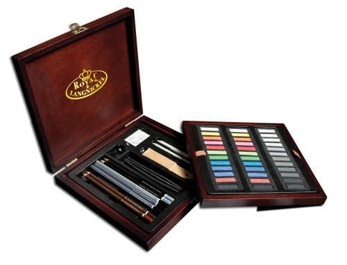 Royal & Langnickel Premier Pastel Pencil Art Set, 53-Piece