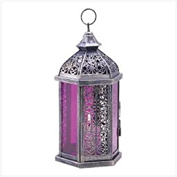 Enchanted Amethyst Candle Lamp by World of Products