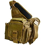 UTG Multi-functional Tactical Messenger Bag - Dark Earth