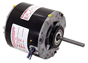 A.O. Smith 610 1/20 HP, Open Enclosure, Sleever Bearing, Shaded Pole, 3/8-Inch by 3-1/4-Inch Shaft, CWSE Rotation Refrigeration Motor