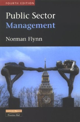 Public Sector Management, by Norman Flynn