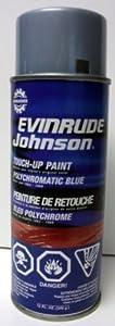 Evinrude Spray Paint White