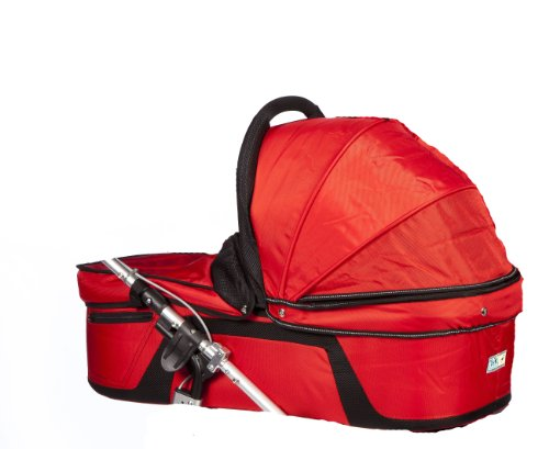 Trends For Kids Single Carrycot for Twinner Twist Duo, Red (Discontinued by Manufacturer)