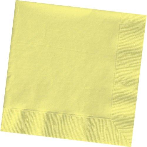 Weddingstar-Beverage-Size-Napkins-Lemon-Yellow-50-Pack