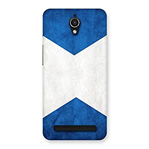 Enticing X Fin Blue Back Case Cover for Zenfone Go