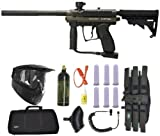 Spyder MR1 Paintball Marker Gun 3Skull Sniper Set - Olive