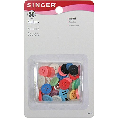 Singer 36 Button (Set of 50)
