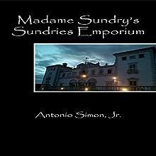 Madame Sundry's Sundries Emporium (       UNABRIDGED) by Antonio Simon Jr. Narrated by John Feather
