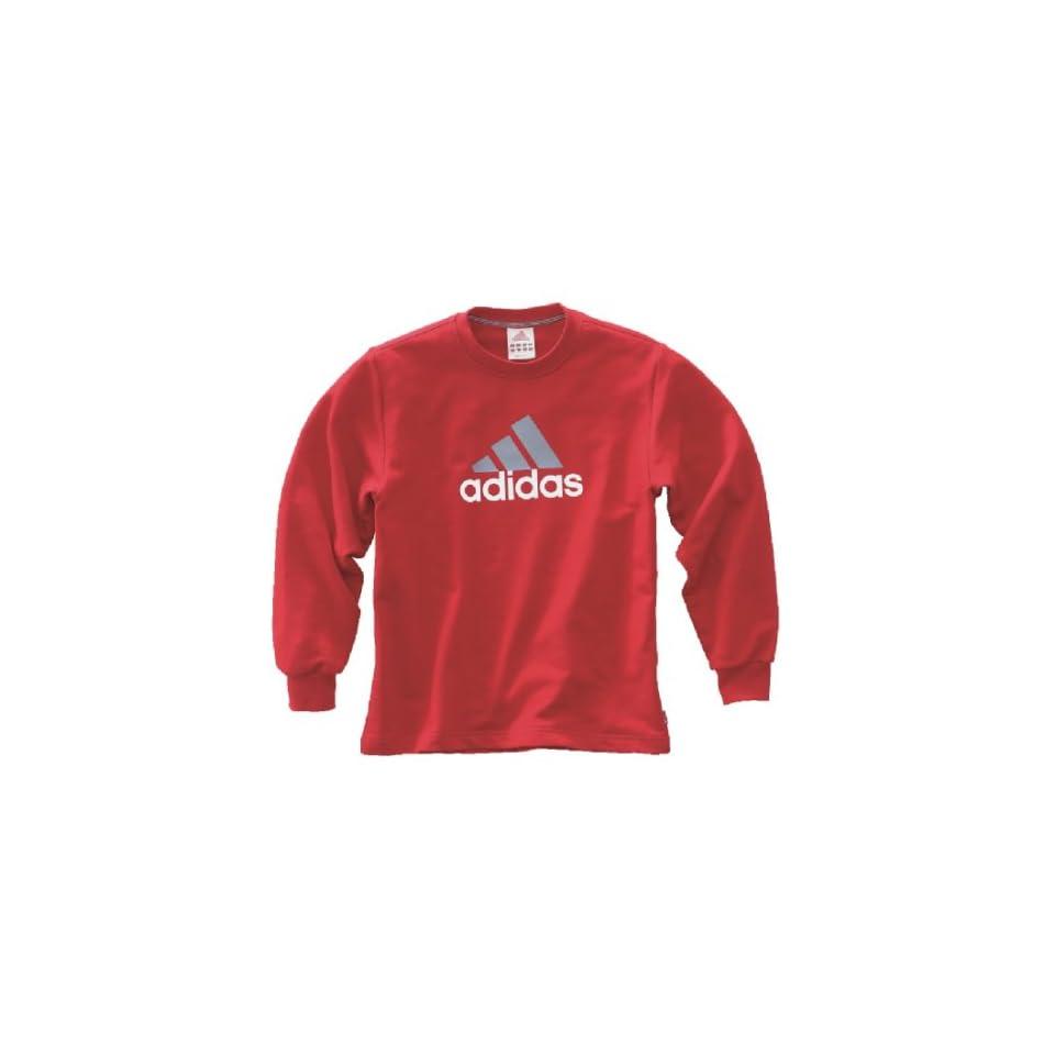 adidas Sweatshirt Kinder, rot, 116 Sport & Freizeit on PopScreen