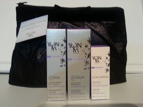 YonKa Holiday Gift Set: Advanced Optimizer Serum + Creme; 2 Free Gifts: Nutri Contour & Holiday Bag (Value $202)