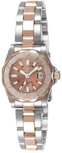 Invicta 7067 Women's Sapphire Lady Diver Two Tone Watch
