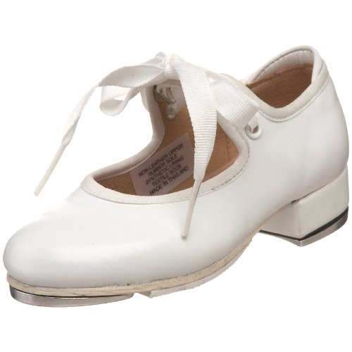 Bloch Dance Annie Tyette Tap Shoe (Toddler/Little Kid/Big Kid),White,9.5 M Us Toddler front-400634