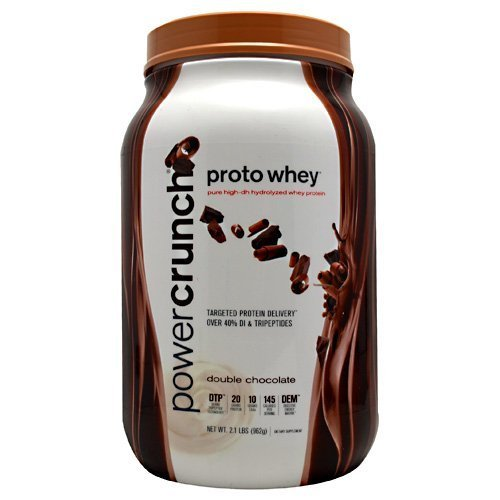 BioNutritional Research Group PowerCrunch Proto Whey Double Chocolate -- 2.1 lbs by BioNutritional Research Group