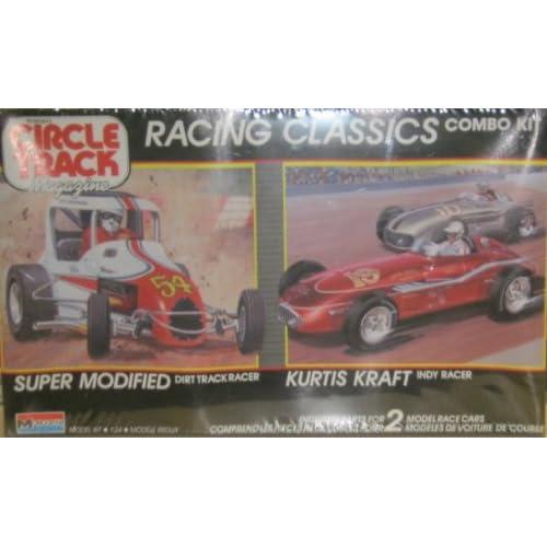Amazon.com: Monogram 6146 Racing Classics Combo Kit: Super Modified