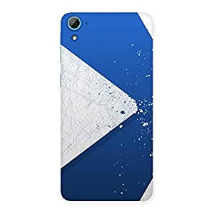 Cute Blue Paint Work Job Back Case Cover for HTC Desire 826