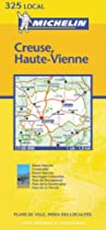 Creuse/Haute-Vienne (Michelin Local Maps)