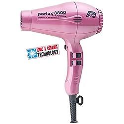 Parlux - 3800 iónica cerámica rosa secador de pelo