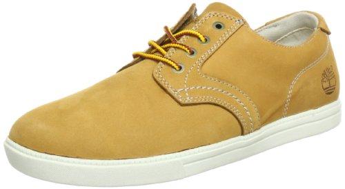 Timberland Newmarket FTB_EK Newmarket LP Ox 6533R - Zapatillas de cuero para hombre, Amarillo (Jaune (Wheat)), 44