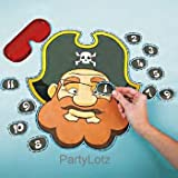 41JBrHKdW L. SL160  Pin the Eye Patch on the Pirate Game