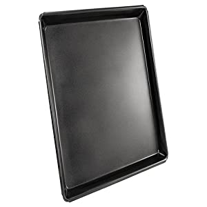 Fat Daddio's 12 x 18 x 1 Inch Sicilian Style Pizza Pan with SlickDad Coating