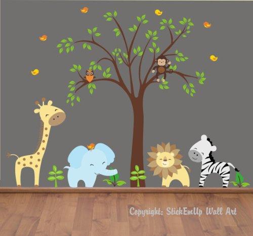 Jungle Themed Nursery Decor