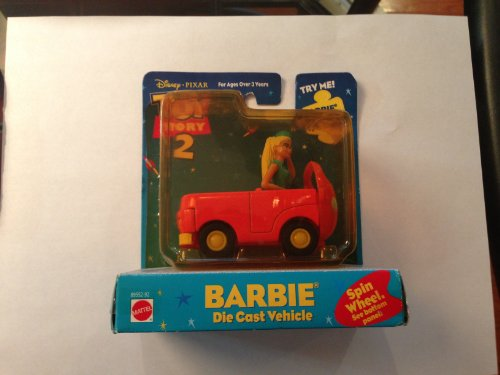 Toy Story 2 Barbie Die Cast Vehicle - 1