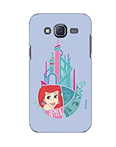 Pick Pattern with Exclusive DISNEY Characters Back Cover for Samsung Galaxy J5