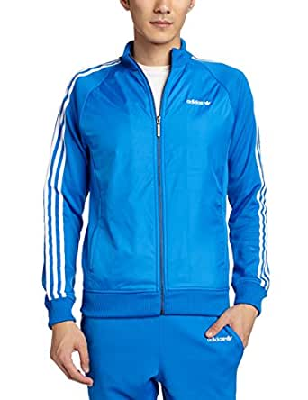 Adidas Originals Menu0026#39;s Track Jacket (4054709696596_M30163_XS_Blue Bird) Amazon.in Clothing ...