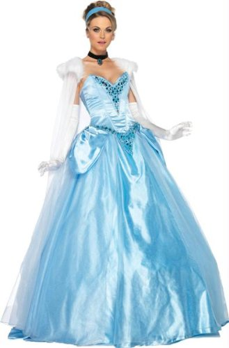 Costumes for all Occasions UADP85058SM Cinderella Dlx Adult Sm