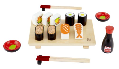 Hape - Playfully Delicious - Sushi Selection Wooden Play Food Set
