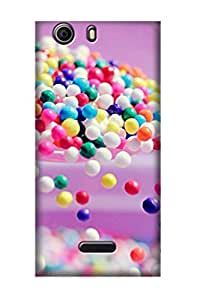 ZAPCASE PRINTED BACK COVER FOR MICROMAX NITRO 2 Multicolor