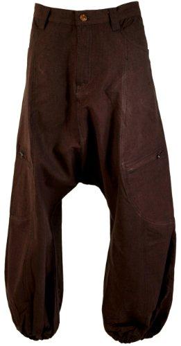 pantaloni-alla-turca-alibaba-pantaloni-bloomers-aladin-pantaloni-colore-marrone-scuro-pantaloni-per-