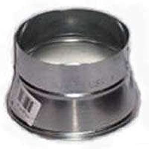 Gray Metal 7x6 311p Stove Pipe Reducer 7 Quot X 6 Quot 26 Gauge