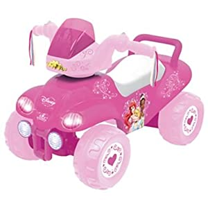 Disney Princess Steerable ATV Ride-On
