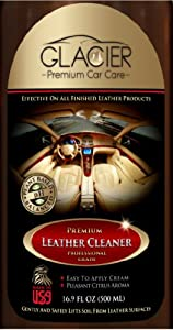 Leather Cleaner for Handbags, Sofa, Furniture, Cars, Shoes, Purses, Jackets - All Natural Professional Grade Saddle Soap with Conditioner