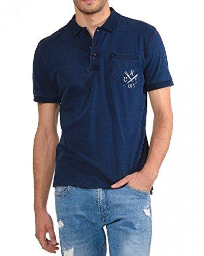 Kaporal Jeans - Kaporal Polo Beans Blue - L, Blue