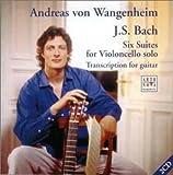 バッハ : 無伴奏チェロ組曲(ギター版)