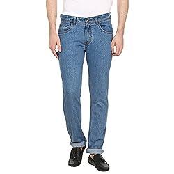 Stylox Men's Light Blue Non Strech Denim Jeans Light Blue